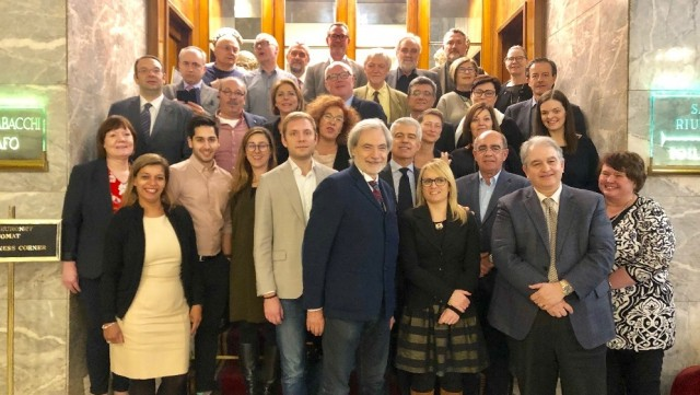UNI Med Finance and NFU (Nordic Finance Union) met in Rome for the first time